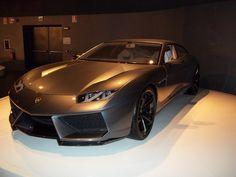 Brown Lamborghini Estoque