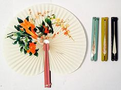 Dozen Oriental Folding Fans with Metal Handle -- Be sure to check out this awesome product.