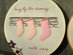 Fowl Single File: The Night Before Christmas Embroidery