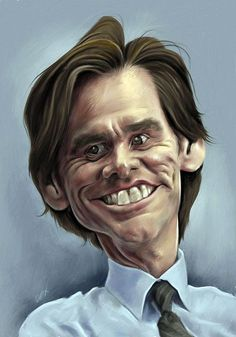 Ideas Funny Face Drawing Cartoon For 2019 Funny Face Drawings, Funny Faces, Cartoon Drawings, Cartoon Art, Horse Drawings, Funny Caricatures, Celebrity Caricatures, Celebrity Drawings, Jim Carrey