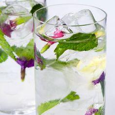 Ponle un poco de vida a tu copa y añádele color con hierbas y flores aromáticas