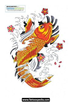 Koi Fish Tattoo Sleeve Designs 03.jpg - http://tattoospedia.com/koi-fish-tattoo-sleeve-designs-03-jpg/