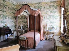 Big Old Houses: Inside Castle Hill on The Crane Estate in Ipswich Massachusetts -  Chinese guest bedroom. | New York Social Diary