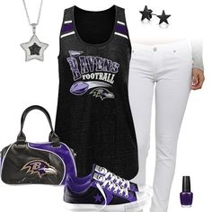 Baltimore Ravens All Star Outfit