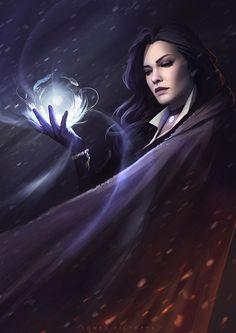 Yennefer, Tomek Pietrzyk on ArtStation at https://www.artstation.com/artwork/l6ERo
