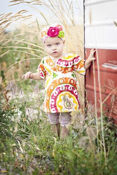 Free pattern for girl's tunic!