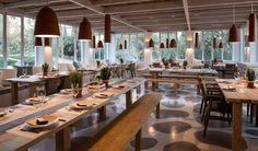 Vila Monte, Moncarapacho, Algarve, Portugal - Cosy Restaurant Interior - Design Hotels