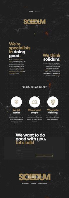 Solidum - Creative Flat Design Website