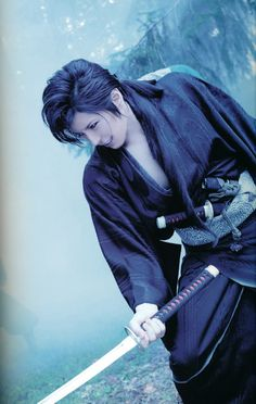 Gackt as a samurai. it just makes sense<--- he could've made a great saito or even kenshin in the movie