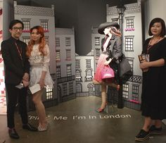 """Pink"" Me I'm In London. Visual Merchandising Arts, School of Fashion at Seneca College."
