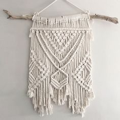 Large Bohemian Macrame Wall Hanging // tapestry // by theDopeRope