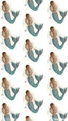 I Wallpaper, Pattern Wallpaper, Wallpaper Backgrounds, Phone Backgrounds, Iphone Wallpapers, Desktop, Fantasy Mermaids, Mermaids And Mermen, Photos Bff