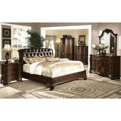From Mindys Home Goods · 4 Piece Marlon Bedroom Set