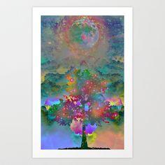 Tree+of+Life+Art+Print+by+Starstuff+-+$15.00