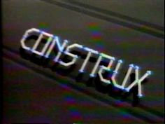 CONSTRUX TOY COMMERCIAL - 1985