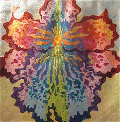 "Quilt Market 2008 Exhibit- ""Hybrid"" by Rachel Wetzler; St. Charles, Illinois by Etsy Labs, via Flickr"