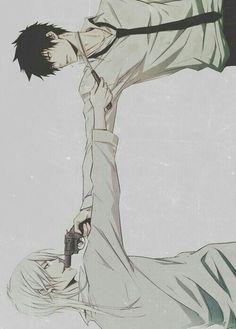 Psycho Pass -Shinya Kogami & Shogo Makishima