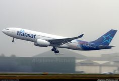 Air Transat Airbus A330-200 Our New Design Logo!!