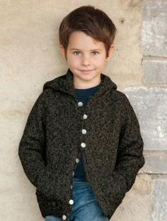 Hooded childrens sweater to 10yrs from Schachenmayr ~ FREE PDF download  ~  click thru pic to site.