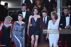 Lea Seydoux, Gaspard Ulliel, Marion Cotillard, Xavier Dolan, Nathalie Baye and Vincent Cassel attend the 'It's Only The End Of The World (Juste La Fin Du Monde)' Premiere during the 69th annual Cannes Film Festival at the Palais des Festivals on May 19, 2016 in Cannes, France.