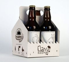 From visual arts magazine, KoiKoiKoi (koikoikoi.com) Dany Boone beer package design
