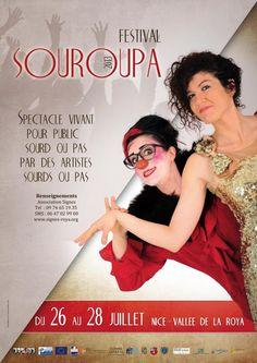 Festival Souroupa. Du 26 au 28 juillet 2013 à Nice.