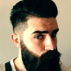 Chris J. Millington @Chris Millington #beard #tattoo Bearded Lady, Bearded Men, Moustaches, Chris Millington, Chris John, Hair And Beard Styles, Hair Styles, Sexy Beard, Great Beards