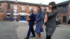 February 18, 2015 - The Duchess of Cambridge touring the Emma Bridgewater factory with the owner