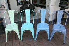 shades of blue tolix