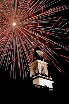Fourth of July Fireworks // First State Heritage Park, Dover, DE