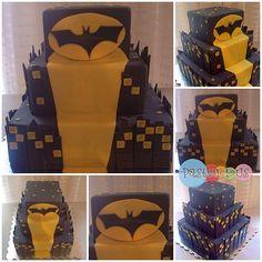 #pastelicious #fondantcake #birthdaycake #batman #pastelfondant
