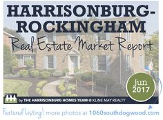The spring real estate season in our local Harrisonburg and Rockingham County market did not disappoint. We're starting to see contracts turn into sales, prices rise, and days on market drop. And although new listings continue to fall slightly, we're confident that 2017 will continue to show healthy numbers throughout the summer. Take a closer look at our June 2017 Market Report!