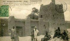 Moschea di Sidi Yahya a Timbuktu in un'immagine storica