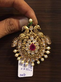 Pendant Set, Gold Pendant, Diamond Pendant, Pendant Jewelry, Beaded Jewelry, Gold Earrings Designs, Gold Jewellery Design, Designer Jewelry, Necklace Designs