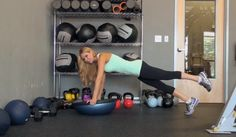Discover #bosuball #planks from #fitness trainer and expert Marzia Prince!