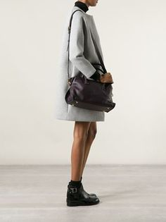 Maiyet Small 'como' Satchel in dark purple #maiyet #maiyetbags #satchel #shoulderbags #bags www.jofre.eu
