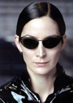 Trinity (Carrie-Anne Moss), The Matrix, 1999.