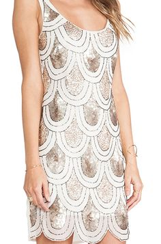 Pretty #gold embellished dress http://rstyle.me/n/f3stcr9te