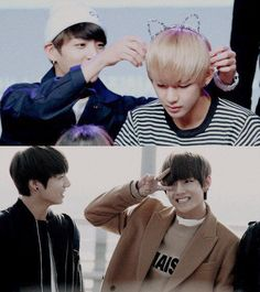 #jungkook ♡ #v #taehyung