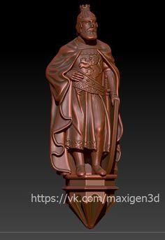 MaxiGen. 3D модели для ЧПУ и 3D печати