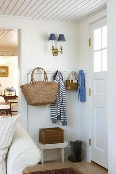 small entry-way. Ours is even smaller... I wonder if something like this would work?