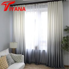 Newchenille Blinds Jacquard Fabric Curtain For Livingroom Silver GIGIZAZA  Black Out Custom Size Shade American Style For Bedroom | Home Decor |  Pinterest ...