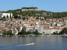 Sibenik - worth the climb up to the castle