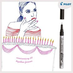 Pernamentné lakové prepisovače Pilot Super Color vydržia naozaj dlho  #happywriting #pilotpen #forevertogethe