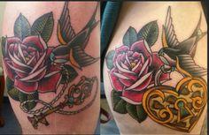Tattoo-Foto: Ein Partnertattoo