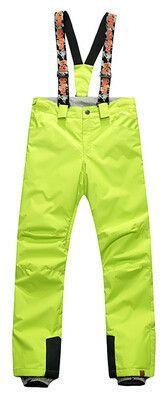 Gsou snow ski pants women's snowboard pants waterproof womens breathable windproof pants sport outdoor skiing pants