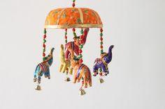 Door hanging / Wall hanging,elephant decorative wall hanging ,up trunk door hanging with 5 elephant