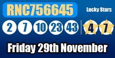 Did you play this Friday's #euromillions draw? don't worry we have the latest results and prize breakdown here: http://euromillionshub.com/euromillions-results-29th-november/ #lottery