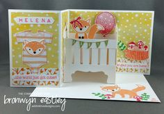 Follow my blog with Bloglovin Hi there. Welcome to addINKtive designs.  The Stamp Review Crew are back for another blog hop. This round we are featuring the extremely cute stamp set, Foxy Friends. …