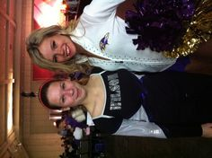 kenn w one of Baltimore Ravens Cheer Leader